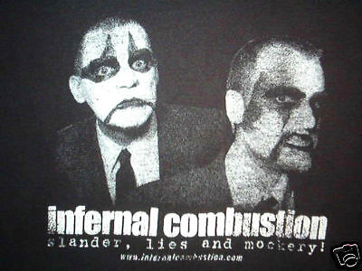 Vintage Infernal Combustion Shirt Blabbermouth Metal