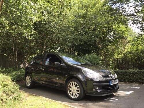 BARGAIN CHEAP CAR MOTOR 2006 06 Renault Clio 1.5 DCi Dynamique S 3dr (A/C) £30 TAX *FSH/MOT 2018*