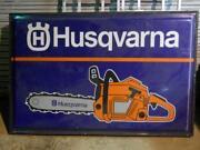 Husqvarna Sign