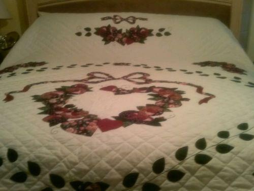 Wedding Ring Quilt King Ebay