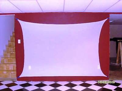 100 Rear Projection Screen Dj Screen Movie Screen 72 X 72 6 X 6