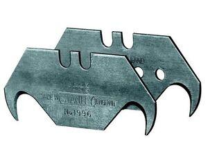 Stanley-Lama-a-gancio-1996-non-forati-5-pezzi-carta-SB-REVERSIBILE-gescharft