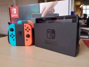 Nintendo switch console trade for phone