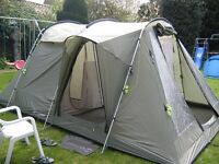 Outwell Minnesota 4 tent incl awning & carpet