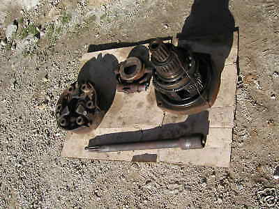 Farmall 300 350 Tractor Ta Assembly Clutch Pack Works