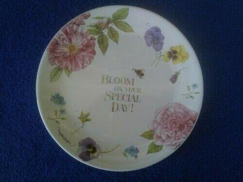 """Hallmark Natures Sketchbook Marjolein Bastin Birthday Plate 9"""""""