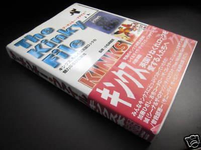 Kinks The Kinky File Japan Book OBI 1999 Ray Davies MOD