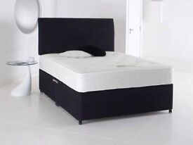Can Deliver Today or day Of Choice Double Bed+Memory Foam Mattress+Headboard All New Factoty Direct