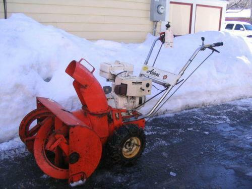 vintage simplicity snow blowers