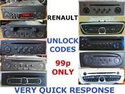 Renault Trafic Radio