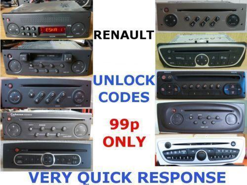 Renault Trafic Radio Vehicle Parts Amp Accessories Ebay