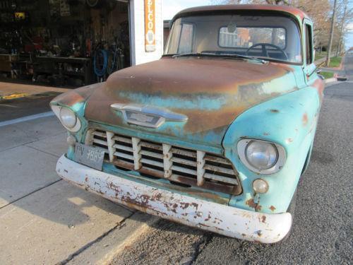1955 chevy truck ebay. Black Bedroom Furniture Sets. Home Design Ideas