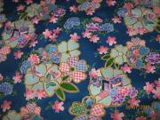 Floral Fabric by The Yard