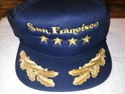 Navy Captains Hat