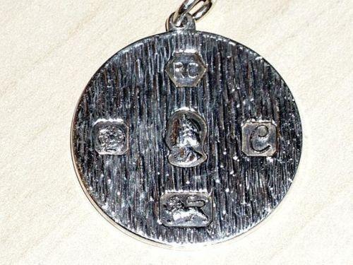 1977 Silver Jubilee Pendant Ebay