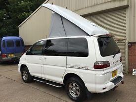 Mitsubishi Delica Pop Up Roof 4x4 Camper