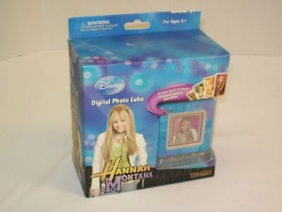 Disney Hannah Montana Digital Photo Cube - Up To 70 Photos - BRAND NEW IN BOX