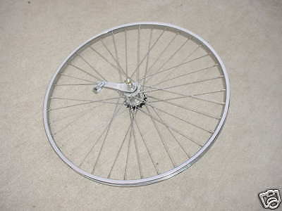 BICYCLE WHEEL COASTER BRAKE ROAD BIKES  26 X 1 /3/8 FIT HUFFY SEARS MANY OTHERS