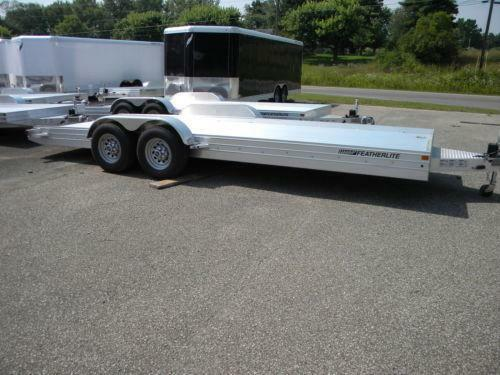 Open Car Traileron Aluminum Open Car Hauler Trailer