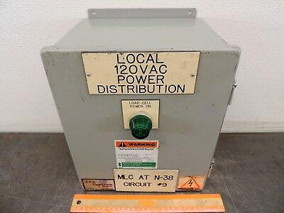 Saginaw Control Sce Ax 473333 Electrical Enclosure 12 X 10 X 8 Connection Box