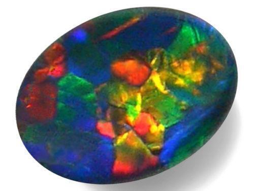 Black Fire Opal Ring Ebay