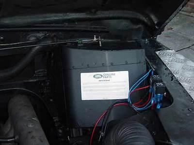 Land Rover Defender Tdi/Td5 (&  90/110)  demister fan speed increase kit