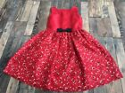 Christmas Multi-Color 6 Size Dresses (Sizes 4 & Up) for Girls