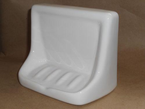 White Ceramic Soap Dish Ebay