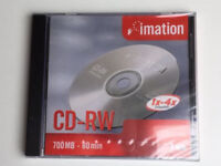 Pack of 10 brand new Imation CD-RW