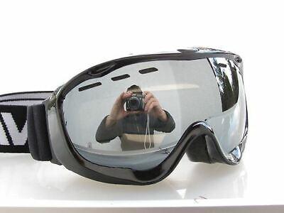 Ravs Skibrille Snowboardbrille Schneebrille Schutzbrille EXTRA für Brillenträger