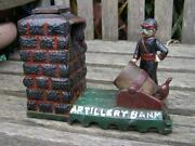 Cast Iron Artillery Bank