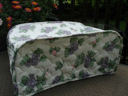pfaltzgraff Grapevine Lge Toaster Oven Appliancecover, Floral, LAST ONE