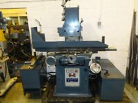 JONES & SHIPMAN 1400L EXTENDED HEIGHT COLUMN SURFACE GRINDER