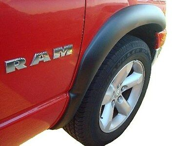 Fender Flares Factory Style Matte Black 4-Pc Set Fits 2002-2008 Dodge Ram