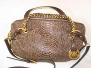 Michael Kors Handbag Distressed Leather