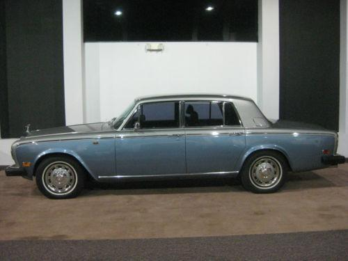 rolls royce silver shadow ebay. Black Bedroom Furniture Sets. Home Design Ideas