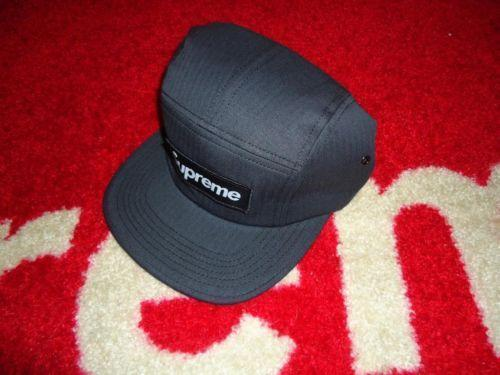 Supreme Camp Cap Hat Ebay