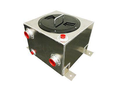 RRC - 7 1/2 Gallon Water to Air Intercooler Aluminum Tank Ice Box W/ Rule 3700