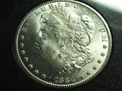1884 CC Carson City Uncirculated Morgan Silver Dollar