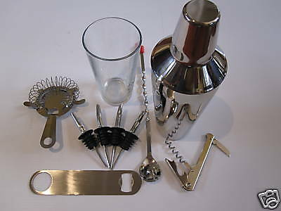 Usa Seller Bartenders Kit 12 Pieces Free Shipping Usa Only