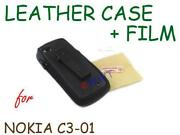 Nokia C3-01 Leather Case