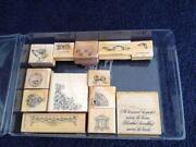 RARE Rubber Stamps
