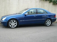 MERCEDES-BENZ C220 CDi ELEGANCE AUTOMATIC, 2002 52 REG,MOT ONE FULL YEAR.