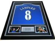 Signed Chelsea Shirt Framed