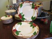 Franciscan Apple Luncheon Plates