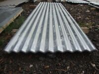 brand new 12ft long galvanized corrugated roofing sheets