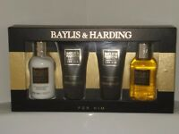 Brand new Men's Baylis & Harding 4 Piece Gift Set