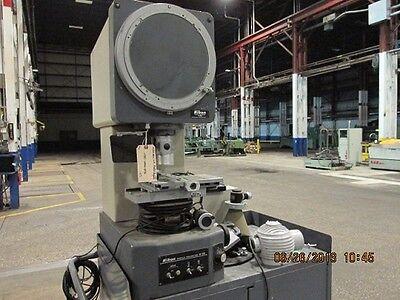 Nikon Mdl V12 Profile Projector 111863