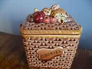 Fruit Cookie Jar