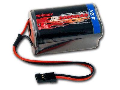 Nimh Square (Tenergy 4.8V 2000mAh NiMH Square Receiver RX Battery for RC)